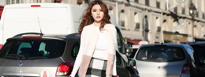 Ngọc Duyên diện đồ đẹp mắt, đậm chất thời trang tại 'kinh đô ánh sáng' Paris