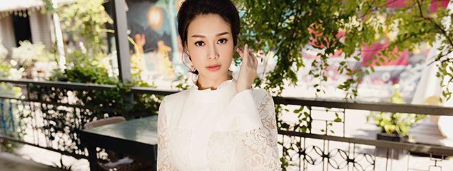 Hoa khôi Trương Tùng Lan ngày càng xinh đẹp