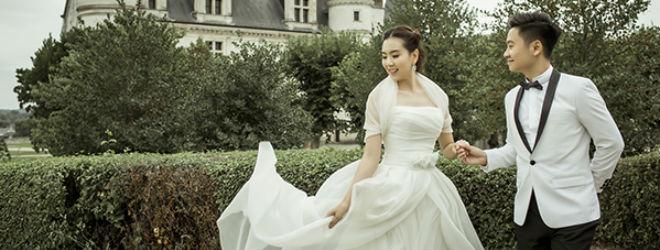 Ngắm ảnh cưới chưa từng công bố của 'Cô gái thời tiết' Mai Ngọc