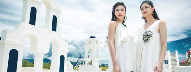 Ngọc Hân 'đọ sắc' đàn em Á hậu trong loạt hình lãng mạn
