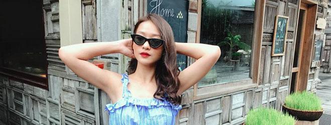 Nữ chính 'Hậu duệ Mặt trời' bản Việt tạm xa phim trường để đi nghỉ dưỡng ở Côn Đảo