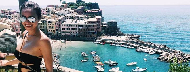 Phương Mai khoe vòng một 'no tròn' khi đi du lịch ở Ý