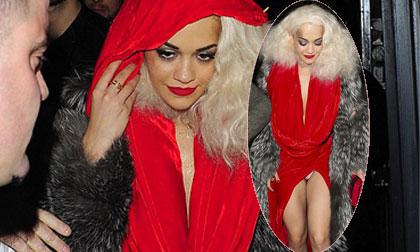 Rita Ora,tiểu Rihanna,sao Hollywood