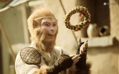"""Tây du ký 2011 """"mất điểm"""" vì khâu tạo hình và hóa trang, vô tình biến. Tôn  Ngộ Không thành một... con quái vật mang gương mặt khỉ."""