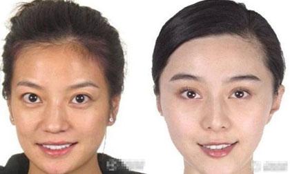 'Choáng' với loạt ảnh chân dung chưa 'tút tát' của sao Hoa ngữ