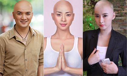 Sao photoshop (P7): Sao Việt xuống tóc đẹp đâu kém nhà sư