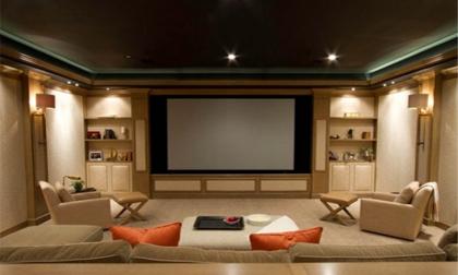 10 Ý tưởng tuyệt vời thiết kế rạp phim tại nhà