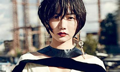 'Búp bê đẹp lạ' Bae Doo Na khoe sắc cá tính trên tạp chí