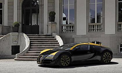 Bugatti ra mắt siêu xe mui trần Veyron độc nhất vô nhị
