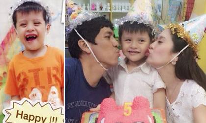Thanh Thúy khoe ảnh sinh nhật con trai Cà Phê tràn đầy hạnh phúc
