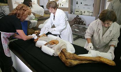 Nga: Chôn lại xác ướp để tránh thiên tai