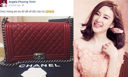 Phương Trinh khoe túi Chanel mới tậu cũng khiến fans khẩu chiến