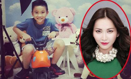 Kim Hiền hạnh phúc khoe ảnh con trai ngày càng lớn