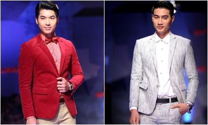 Nam Thành, Duy Linh khoe dáng lịch lãm cùng áo vest