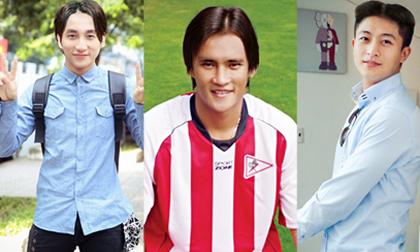 Sao photoshop (P9): 'Phì cười' với kiểu tóc 'bổ luống' của mỹ nam Vbiz