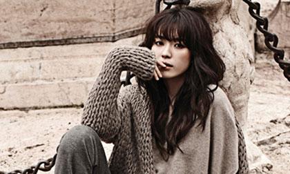 Nàng 'Dong Yi' Han Hyo Joo thời thượng trên tạp chí Harper's Bazaar