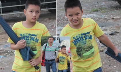 Lần đầu lộ diện 'con trai hotboy' nhà HLV Ngôi Sao FC Triệu Quang Hà