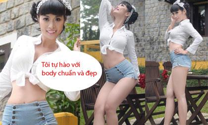 Lê Kiều Như: 'Tôi tự hào với body chuẩn và đẹp'