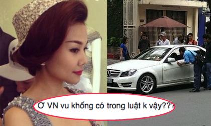 Nghi vấn Thanh Hằng bị vu khống trong sự việc gây tai nạn