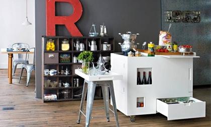 4 thiết kế bếp đa năng siêu nhỏ nhưng đầy đủ cho nhà chật