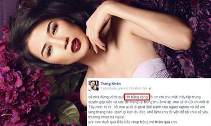Trang Khàn nói móc Quế Vân là 'Hoa hậu bằng xèng'