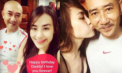 Quản lý cũ Bà Tưng rạng rỡ chúc mừng sinh nhật bố