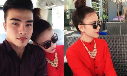 Lộ diện bạn gái xinh như hot girl của Kenny Sang