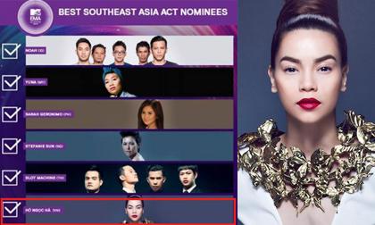 'Náo loạn' trước nghi án MTV EMA 2014 dàn kết quả cho Hà Hồ