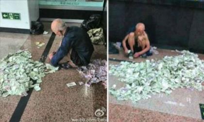 Choáng với ông lão ăn xin kiếm hơn 30 triệu đồng mỗi tháng