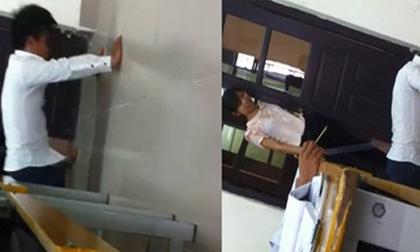 Giảng viên phạt sinh viên hít đất