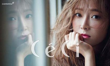 Jessica (SNSD) đẹp lôi cuốn và ngọt ngào trên tạp chí CeCi