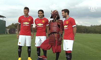 Samurai đỏ thách thức sao Man Utd