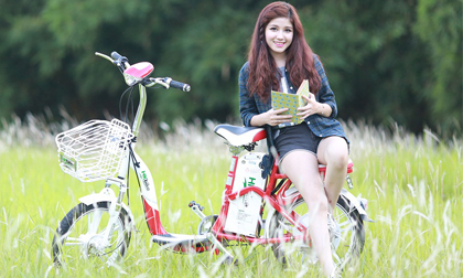 Xài xế điện thời trang như hot girl An Japan