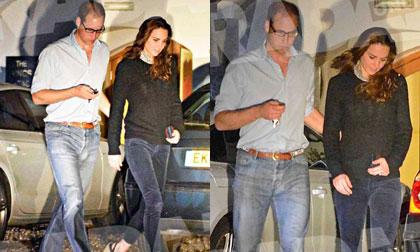 Công nương Kate xuất hiện gầy guộc sau thông báo mang thai lần 2