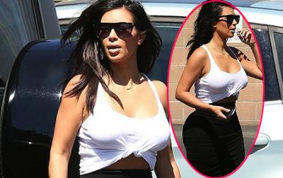 Kim ăn mặc như 'bó giò' giữa phố
