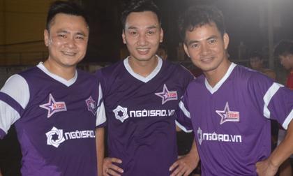 Bộ ba danh hài đất Bắc lần đầu góp mặt trong màu áo Ngôi Sao FC