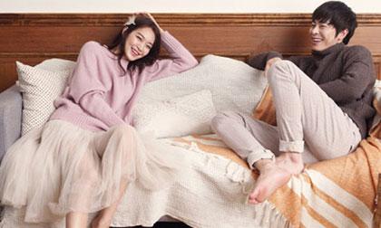 'Vợ chồng' Shin Min Ah và Jo Jung Suk hạnh phúc trên tạp chí InStyle