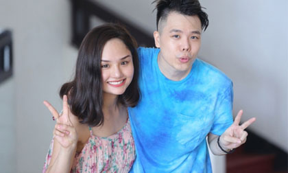 Miu Lê mặt mộc, tích cực tập vũ đạo cùng Trịnh Thăng Bình