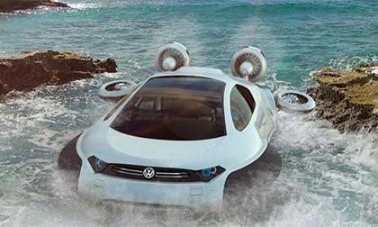 Chiêm ngưỡng siêu xe 'lướt' trên mặt nước