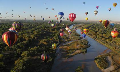 10 điểm du ngoạn khinh khí cầu đẹp nhất hành tinh