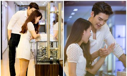 Kim Woo Bin đưa Ngọc Thảo đi sắm nhẫn trước khi về nước