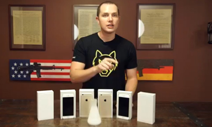 Màn tra tấn khủng khiếp với iPhone 6 Plus