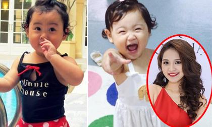 Con gái Hoa hậu Hương Giang biết nói ba thứ tiếng