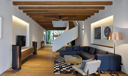 Một kiểu nhà đẹp như mơ ở Singapore