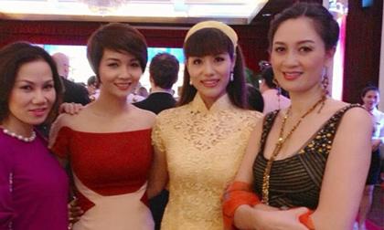 Á hậu Băng Châu đẹp dịu dàng bên các nhan sắc Việt