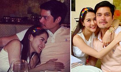Cặp đôi 'tiên đồng ngọc nữ' Philippines tình cảm mặn nồng