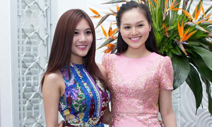 'Bản sao' Hoa hậu Diễm Hương mở tiệc mừng chiến thắng