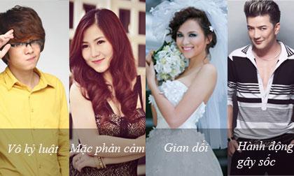 """4 lý do khiến sao Việt bị """"tuýt còi"""" cấm diễn"""
