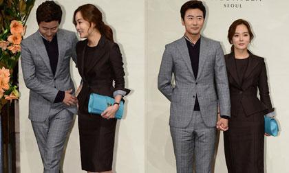 Chae Rim và Cao Tử Kỳ tay trong tay xuất hiện lần đầu sau đám cưới