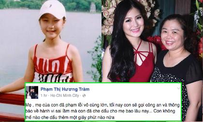 Khoe ảnh lúc nhỏ, Hương Tràm 'buộc tội' mẹ đầy xúc động